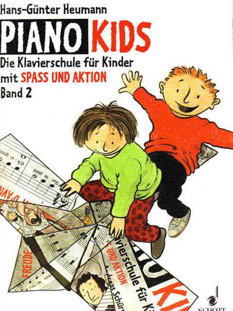 Piano Kids Aktions Buch 2
