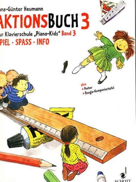 Piano Kids Aktions Buch 3