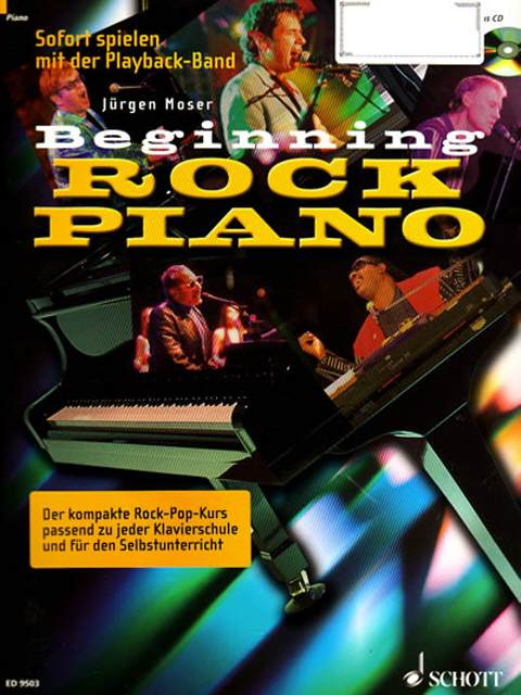 Rock Piano Inkl. CD