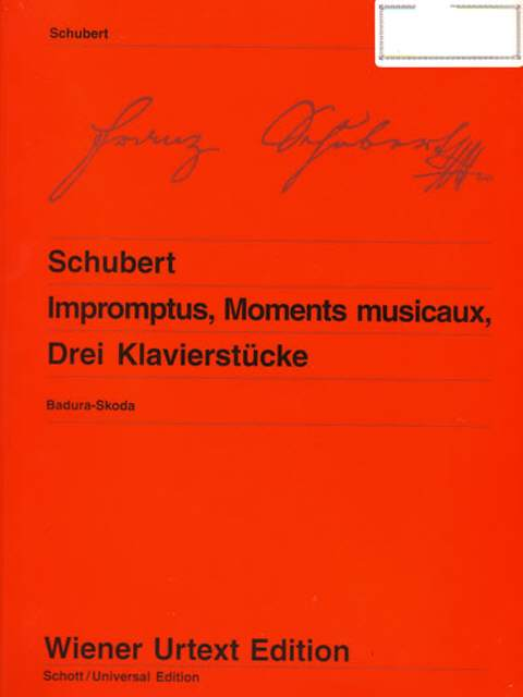 Schubert Impromptus, Moments musicaux