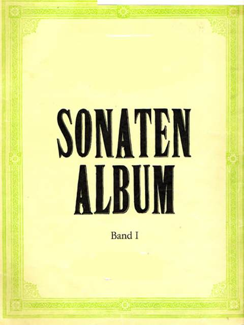 Sonaten Album Band 1