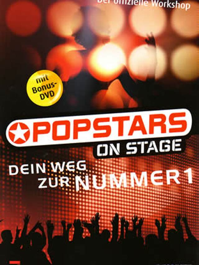Popstar on Stage